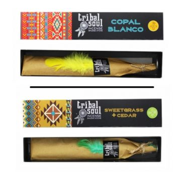 tribal soul copal blanco / tribal soul sweetgrass cedar